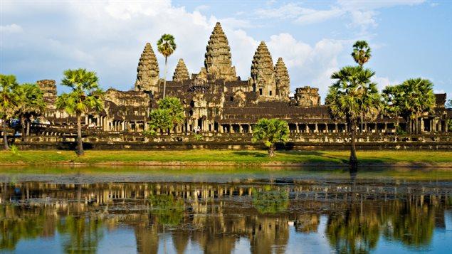 Temple cambodgien d'Angkor Wat