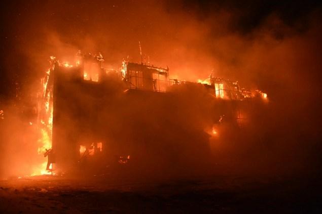 L'incendie s'est déclaré peu après minuit jeudi dans la Résidence du Havre.