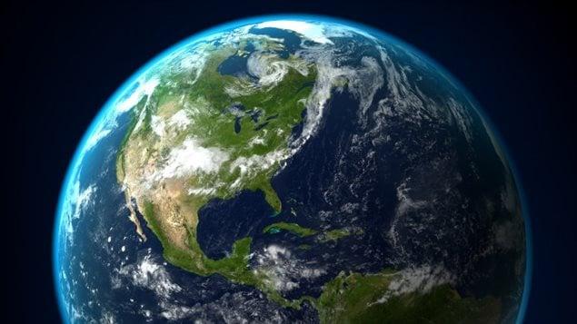 L'Amérique du Nord vue de l'espace