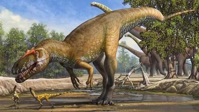 Une illustration du Torvosaurus gurneyi