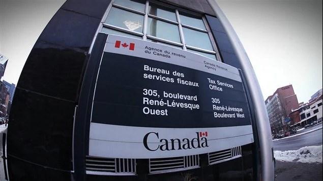 L'Agence du revenu du Canada