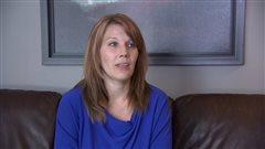 Bonita Harman, de Saskatoon, dont le fils Blake, 11 ans, souffre d'autisme.
