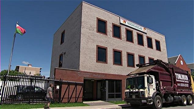 L'ambassade du Madagascar, à Ottawa