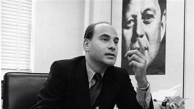 Peter C. Newman, le 25 octobre 1968