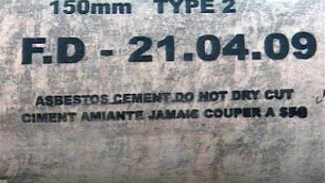 L'amiante est encore utilisée dans les nouvelles constructions du gouvernement fédéral.