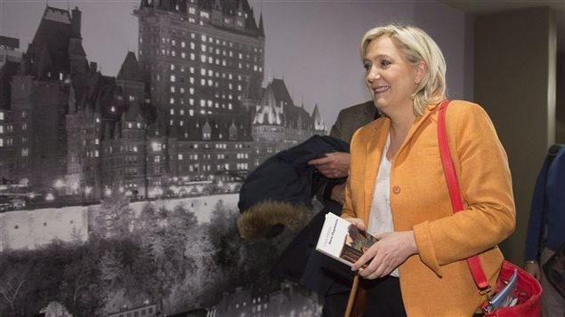 Marine Le Pen, chef du Front national français