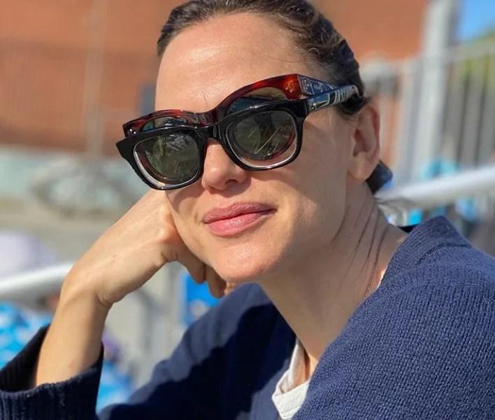 Jennifer Garner is enjoying life as it comes