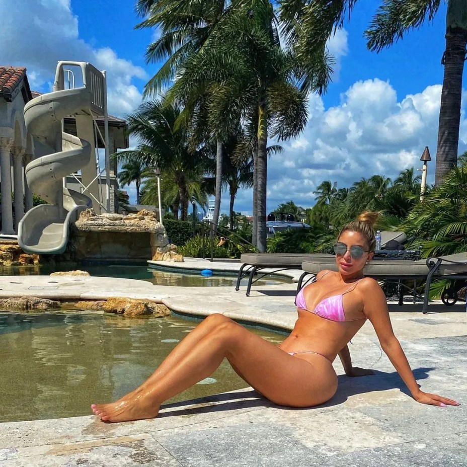 Larsa Pippen at her Miami home.