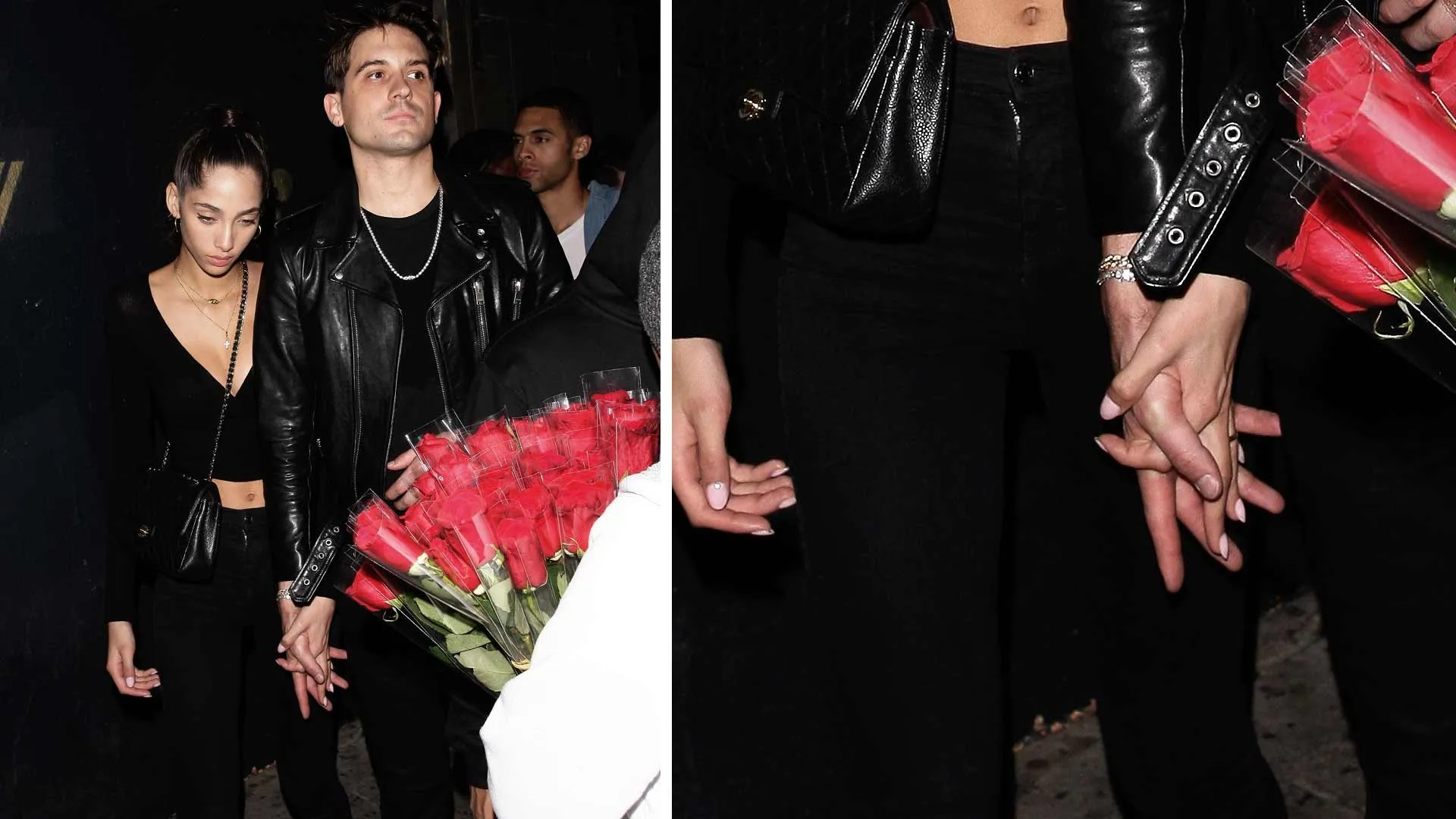 G-Eazy Confirms He's Dating Victoria's Secret Model By Getting Handsy on Date Night