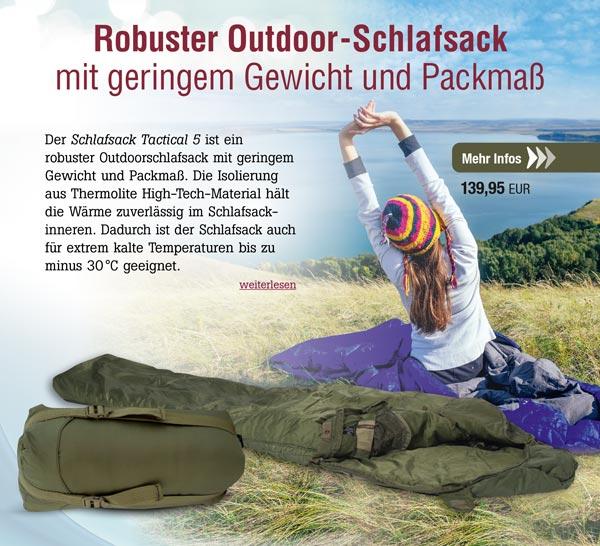 Schlafsack Tactical 5