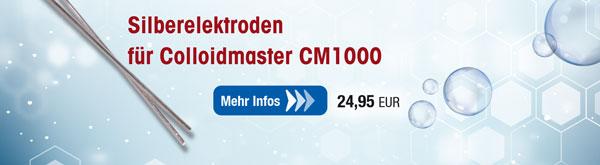 Silberelektroden für Colloidmaster CM1000/CM2000