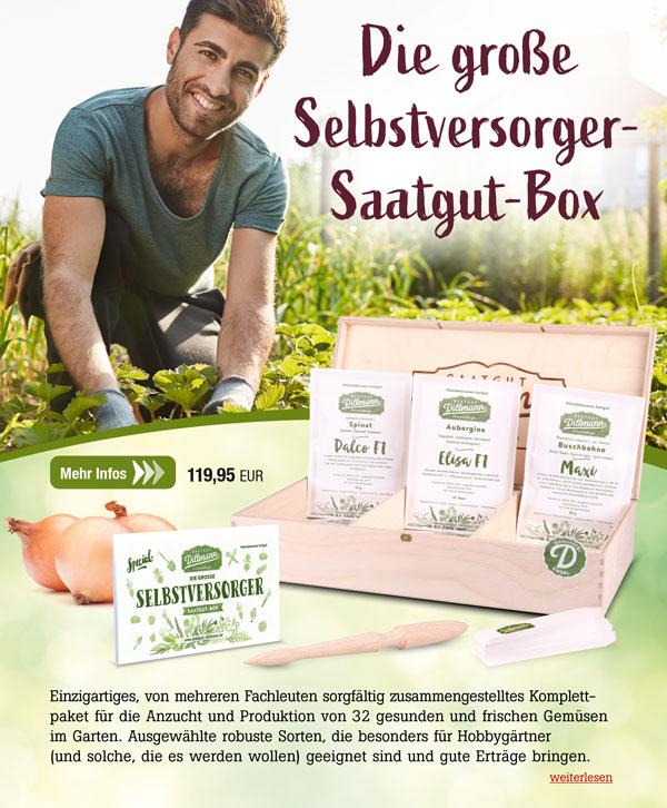 Die große Selbstversorger-Saatgut-Box