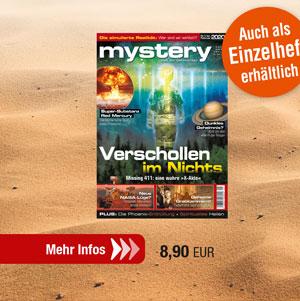 mystery Ausgabe Nr. 1 Januar/Februar 2020