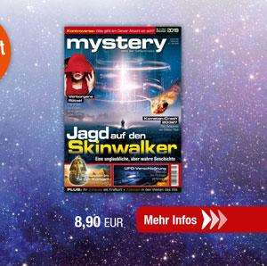 mystery Ausgabe Nr.5 September/Oktober 2019
