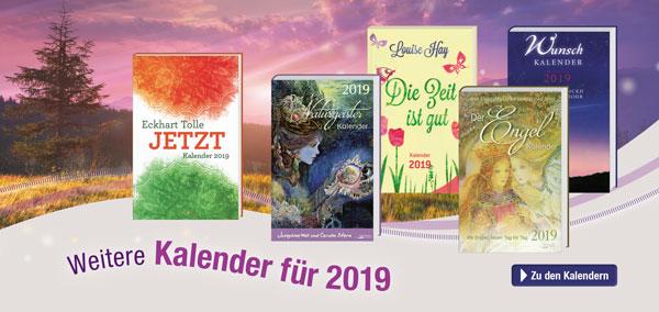 Die neuen Kalender für 2019 sind da