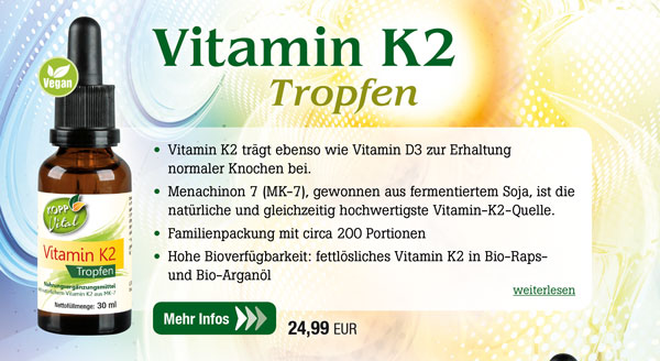 Kopp Vital Vitamin K2 Tropfen - vegan