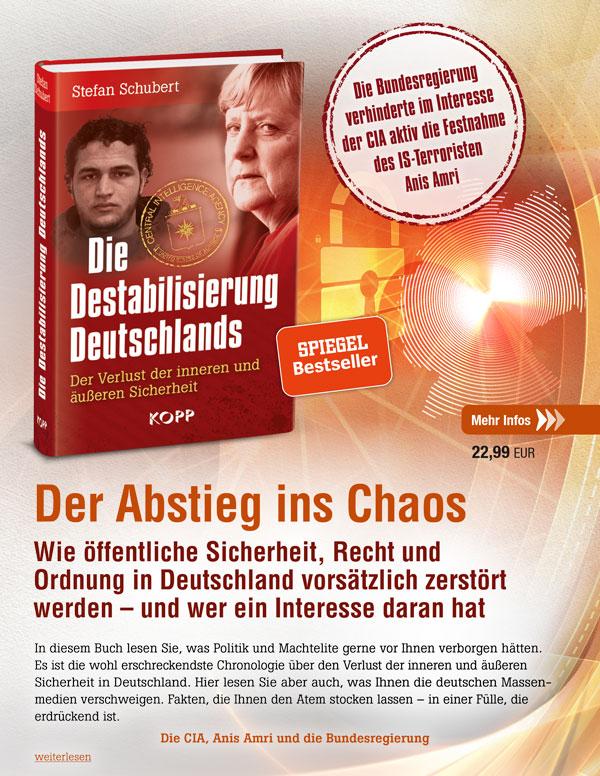 Die Destabilisierung Deutschlands