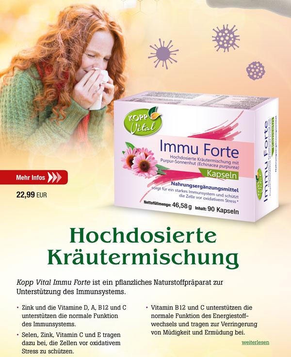 Kopp Vital Immu-Forte Kapseln