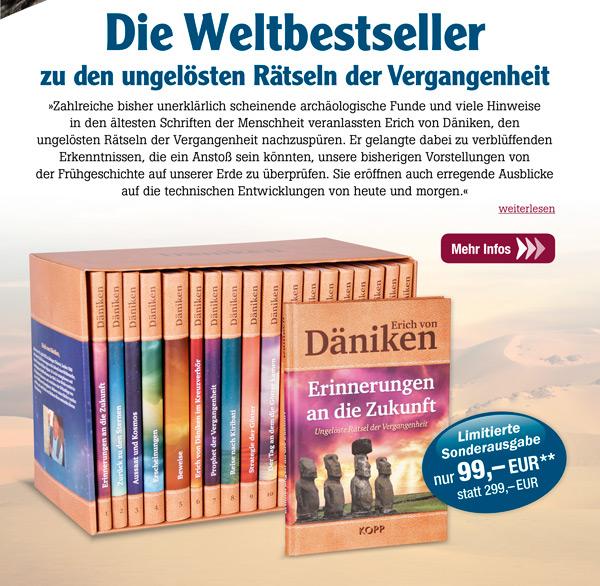 Erich von Däniken - Die Weltbestseller zu den ungelösten Rätseln der Vergangenheit