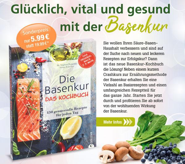 Die Basenkur - Das Kochbuch