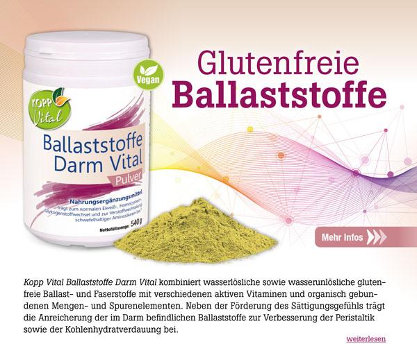 Kopp Vital Ballaststoffe Darm Vital Pulver