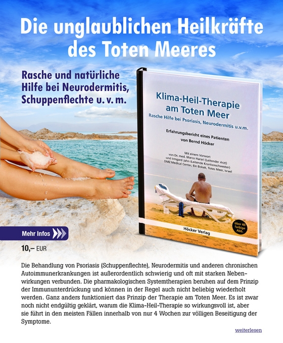 Klima-Heil-Therapie am Toten Meer