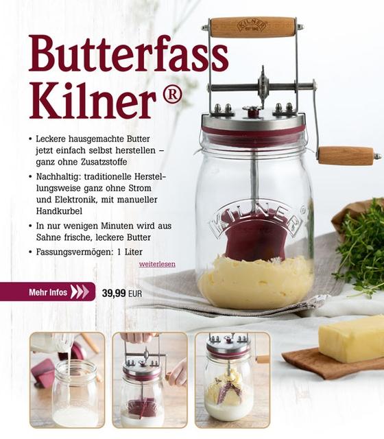 Butterfass Kilner®