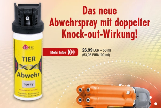 Pfeffer-/Tierabwehrspray