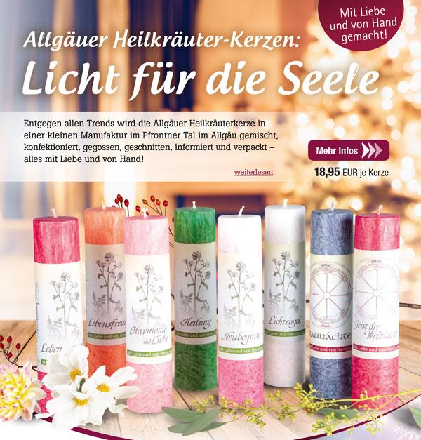 Allgäuer Heilkräuter-Kerzen