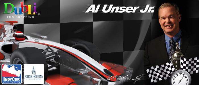 DubLi Fun Shopping - Al Unser Jr. Top Auction