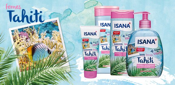 "ISANA ""Around the world"" fernes Tahiti"