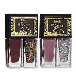 "Rival de Loop ""The Golden 20's"" Duo Nail Polish"