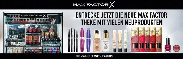 Header Max Factor Neue Theke