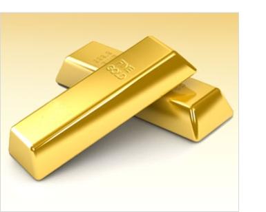 Two (2) 24-Karat 10-Ounce Gold Bullion Bars