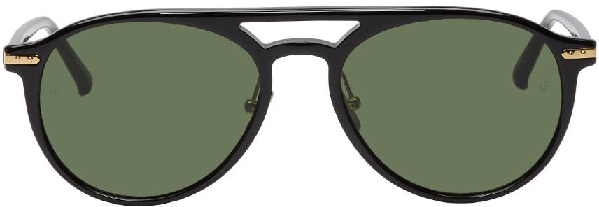 Linda Farrow Luxe Black 23 C5 Sunglasses
