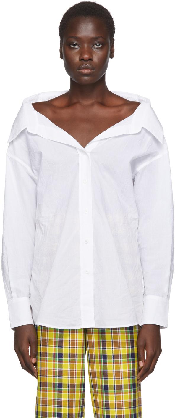 Simon Miller White Tabor Shirt