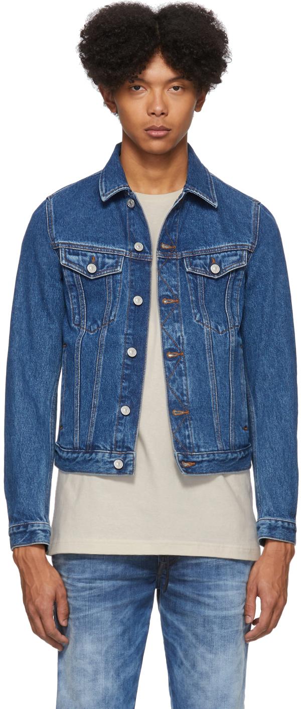 Diesel Blue Denim Galy-F Jacket