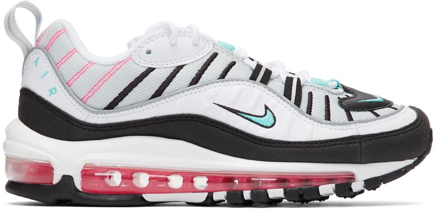 Nike White Air Max 98 Sneakers