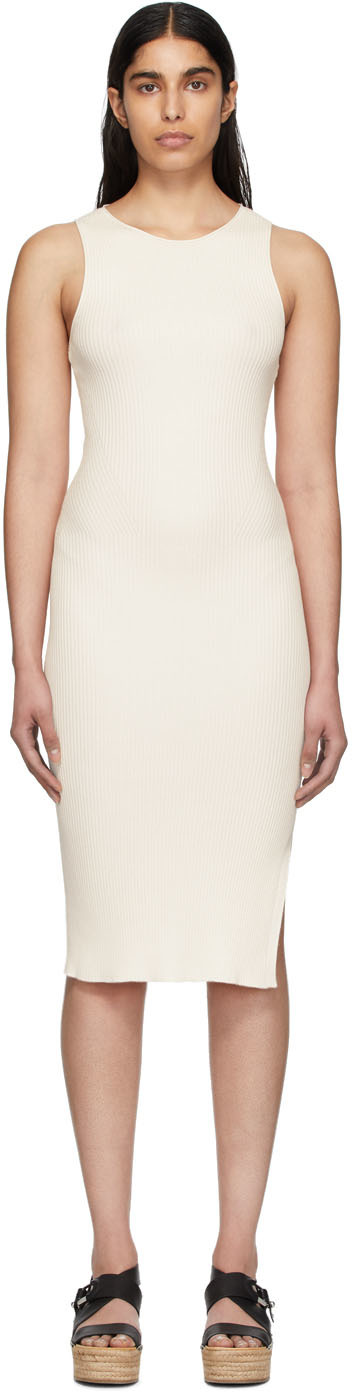 rag & bone Off-White Seamless Kishi Tank Dress