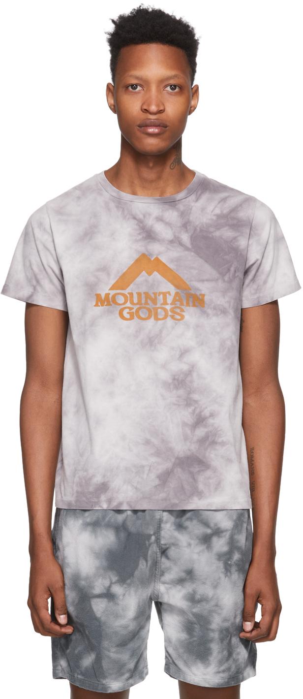 Remi Relief Grey Tie-Dye 'Mountain Gods' T-Shirt