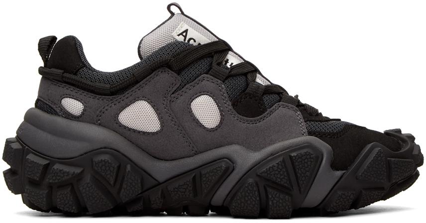 Acne Studios Black Bolzter Sneakers