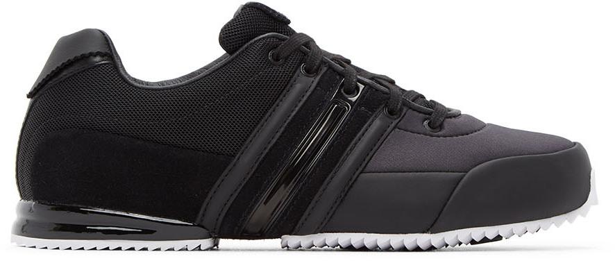 Y-3 Black & White Sprint Sneakers