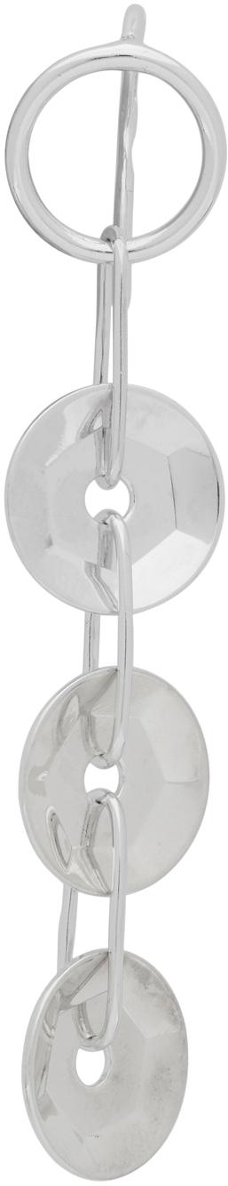 Avgvst Jewelry Silver 3 Sequin Single Earring