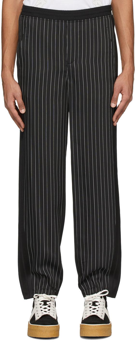 Neil Barrett Black Twill Trousers