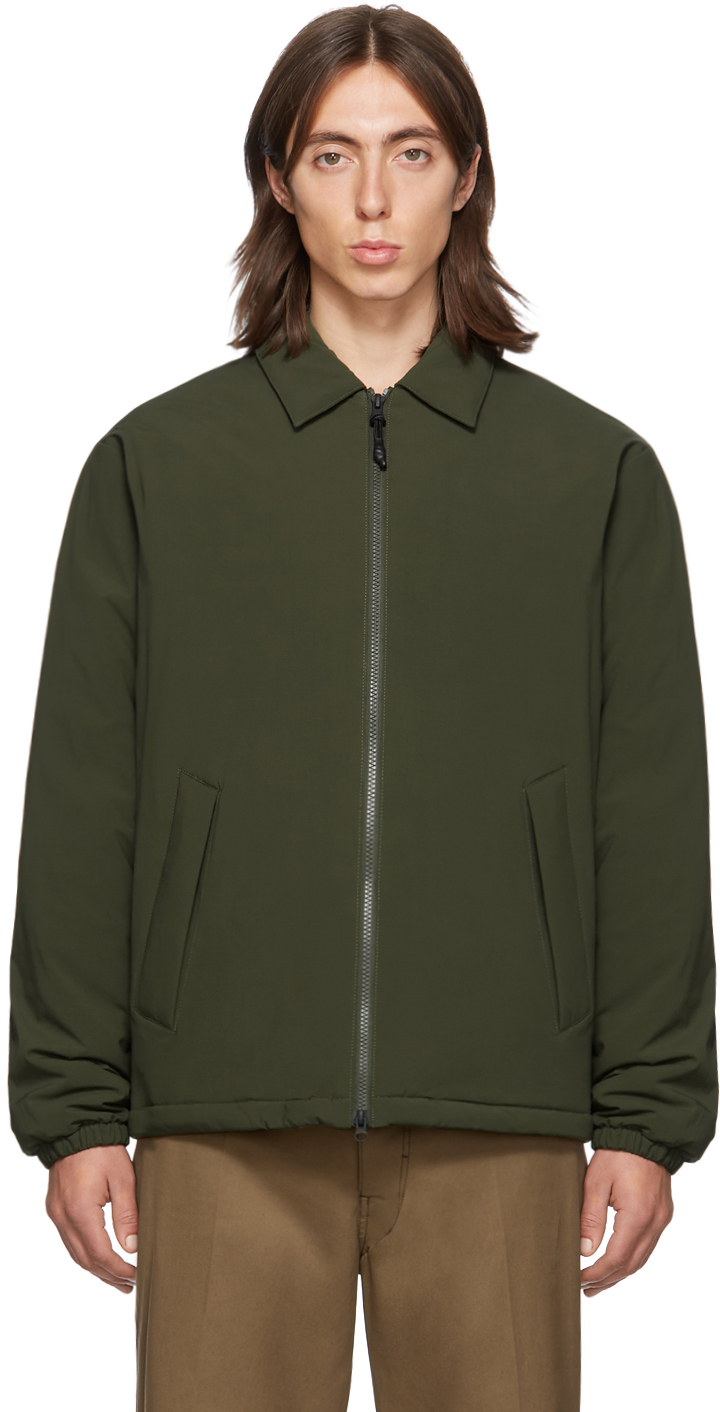 The Very Warm SSENSE Exclusive Khaki Fly Weight Coach Jacket