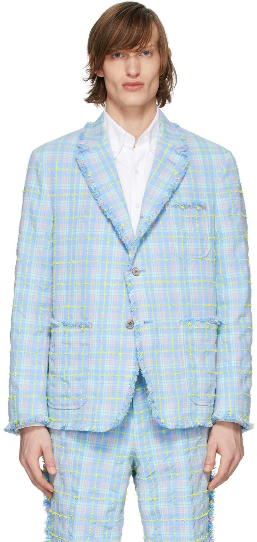 Thom Browne Multicolor Tweed Seasonal Blazer