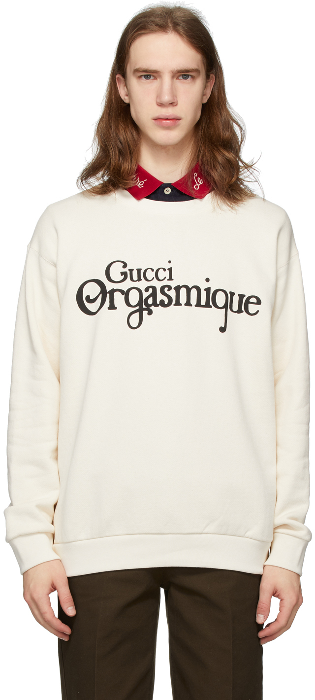 Gucci Off-White 'Gucci Orgasmique' Sweatshirt