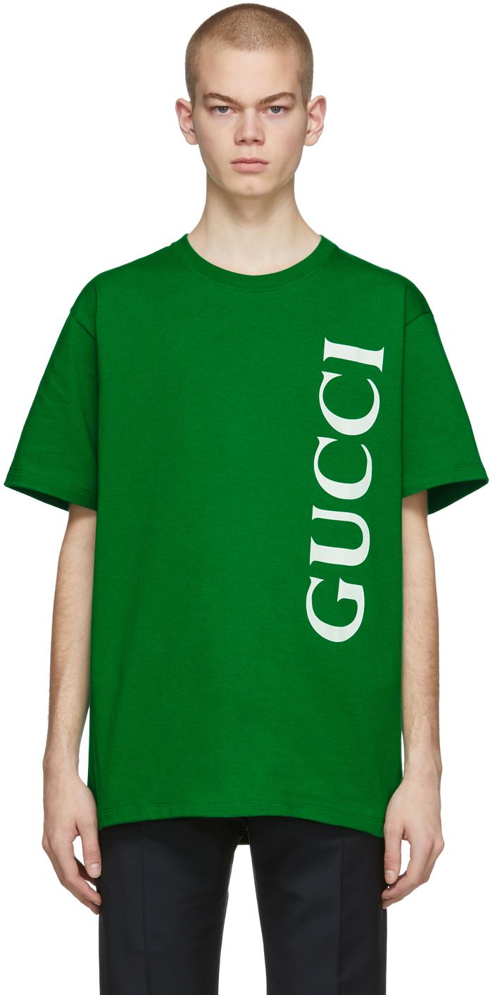 Gucci Green Oversized T-Shirt