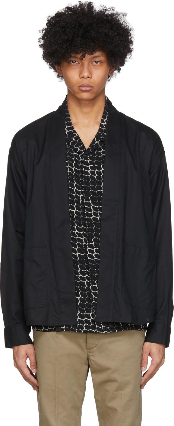 Visvim Black Lhamo Shirt