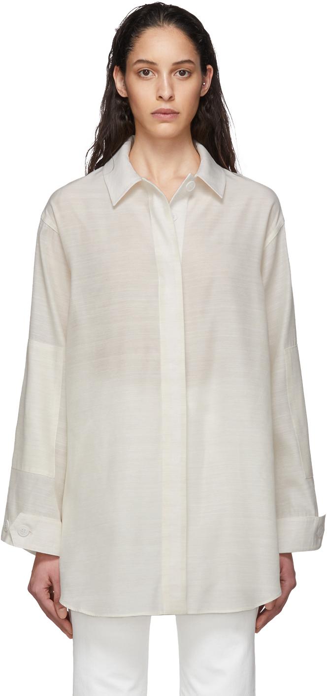 Jacquemus Off-White 'La Chemise Loya' Shirt
